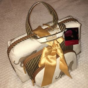 Handbags - Tapestry set of 3 Cosmetic bags Jaguars NWT
